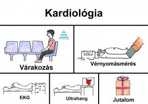 Kardiológia folyamat felirattal
